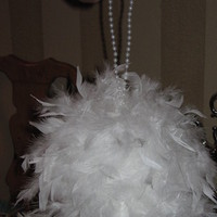 Beauty, Flowers & Decor, Feathers, Flowers, Pomander, Feather