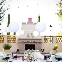 Reception, Flowers & Decor, pink, green, Garden, Asian, Lanterns, Outdoors