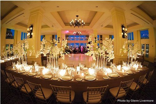 Reception, Flowers & Decor, white, gold