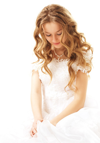 Beauty, Long Hair, Bride, Hair, Bridal, Long, Blond, Make-up, Style, Hairstyle, Extensions, Design visage, Eyelash