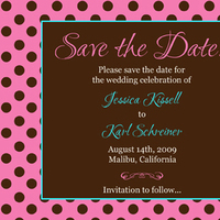 Postcard, The, Save, Date, Card