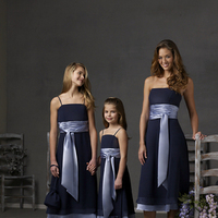 Bridesmaids, Bridesmaids Dresses, Fashion, blue, Tea, Dresses, Chiffon, Length, Sky, Forever, Yours, Uk, Glamourous gowns, Tea Length Wedding Dresses, Chiffon Wedding Dresses