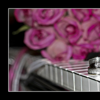 Wedding Rings, Diamond, Ring shot, Env photography