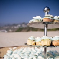 Cakes, cake, Beach, Cupcakes, Wedding, Jesi haack weddings