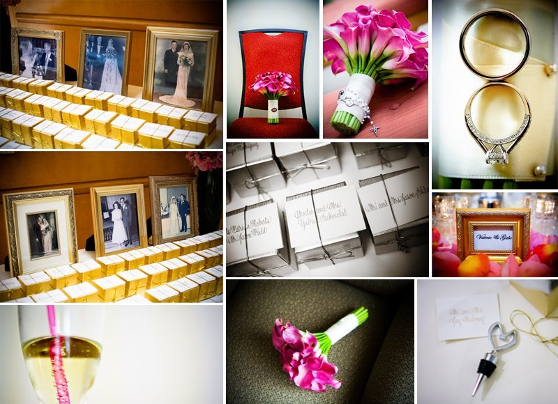 Favors & Gifts, ivory, Favors, Place Cards, Champagne, Family photos, Christine greenberg weddings and events, Detail shots