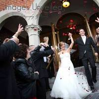 Ceremony, Flowers & Decor, Ceremony Flowers, Bride Bouquets, Bride, Flowers, Groom, And, Rose petals, Images unveiled