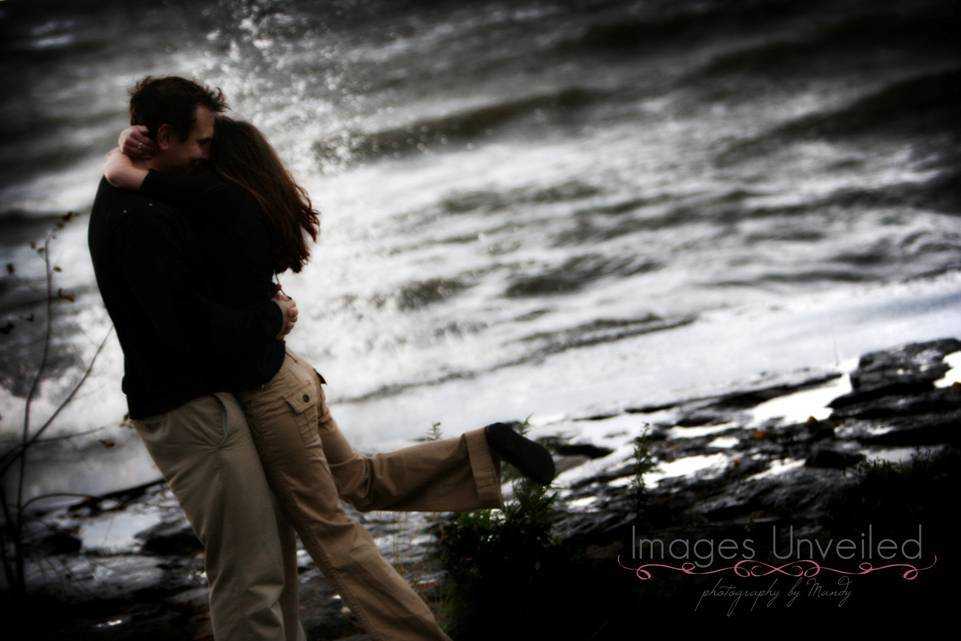 Destinations, Beach, Hug, Destination, Engagement, Storm, Waves