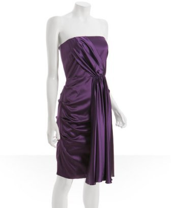 Bridesmaids Dresses, Wedding Dresses, Fashion, purple, dress, Bridesmaid, Grape, Satin, Bluefly, satin wedding dresses