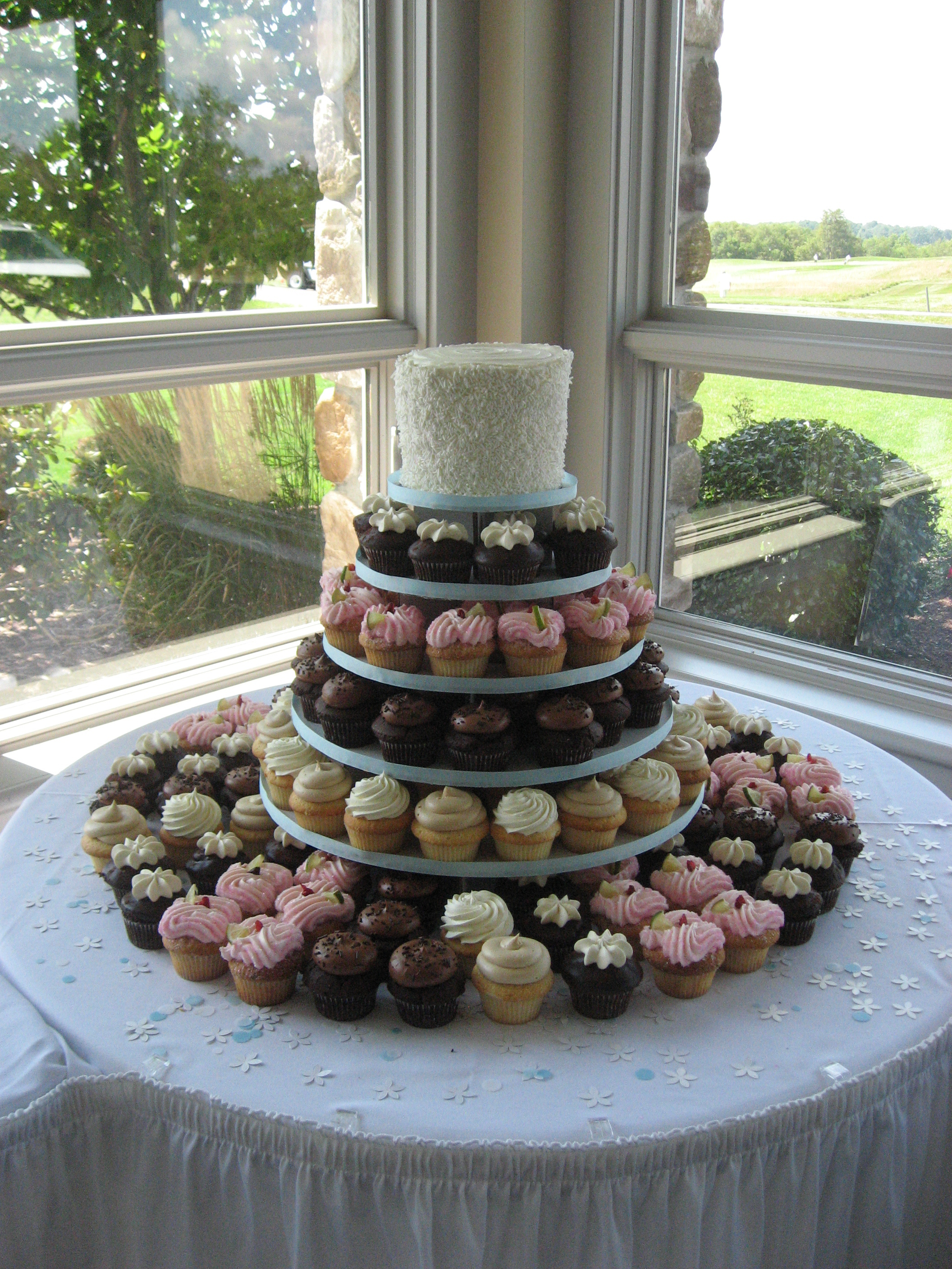 Reception, Flowers & Decor, Cupcakes, Simply perfect weddings