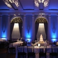 Cakes, blue, cake, Lighting, Chivari, 36th street events