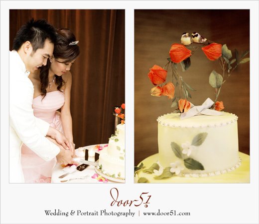 Cakes, cake, Bride, Groom, Cutting, Door51 photography