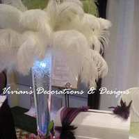 Beauty, DIY, Feathers, Centerpieces, Glamorous, Feather, Toronto, Ostrich, Centrepieces