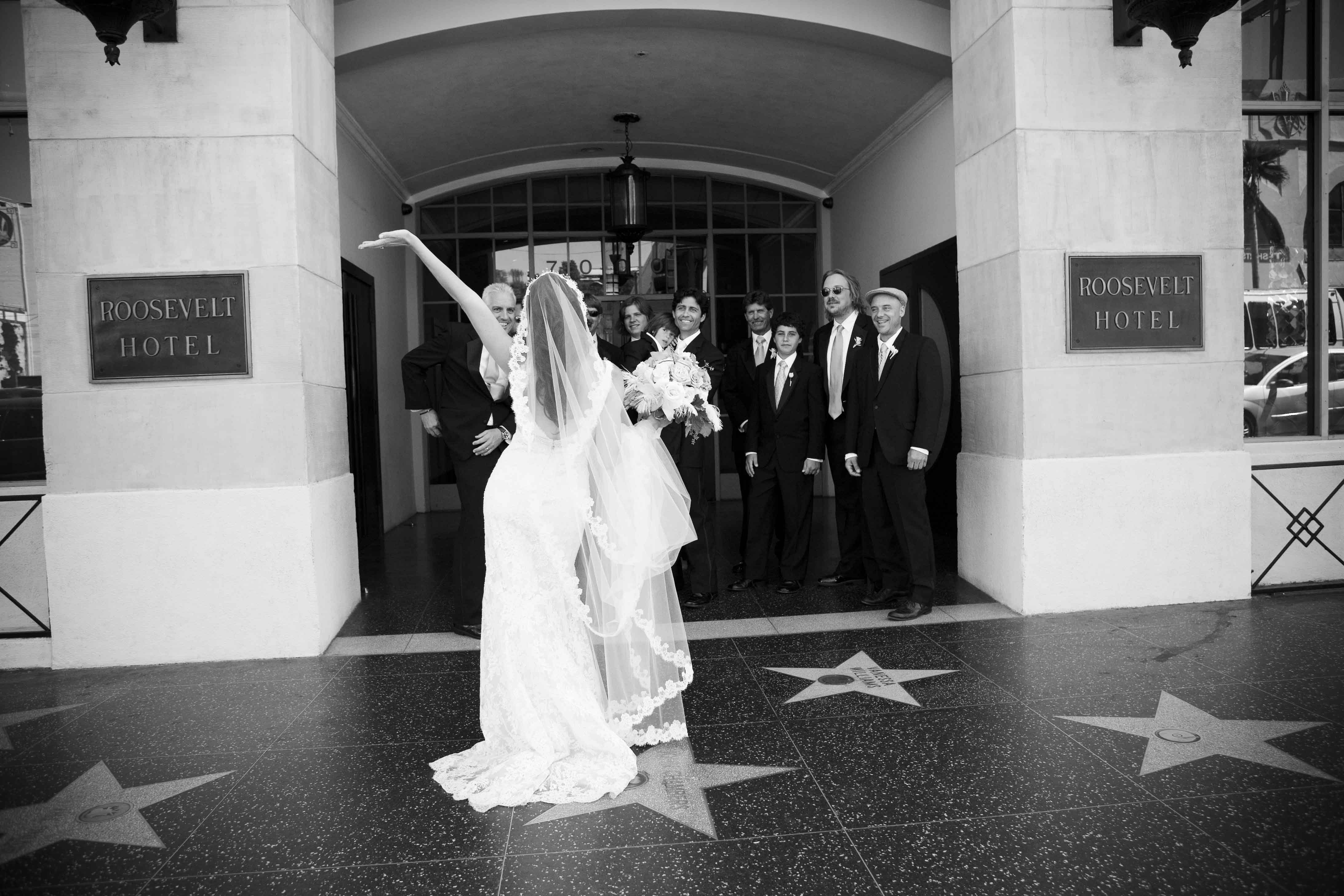 Wedding Dresses, Romantic Wedding Dresses, Vintage Wedding Dresses, Fashion, dress, Vintage, Modern, Classic, Groomsmen, Bride, Groom, Romantic, Hotel, The, La, Top, Los, Angeles, Hollywood, 20s, Lisa franchot photography, Roosevelt, Roof, Modern Wedding Dresses, Classic Wedding Dresses