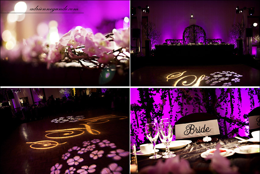 Reception, Flowers & Decor, purple, Garden, Lighting, Flowers, Garden Wedding Flowers & Decor, Blossom, Cherry, Sassy girl weddings events