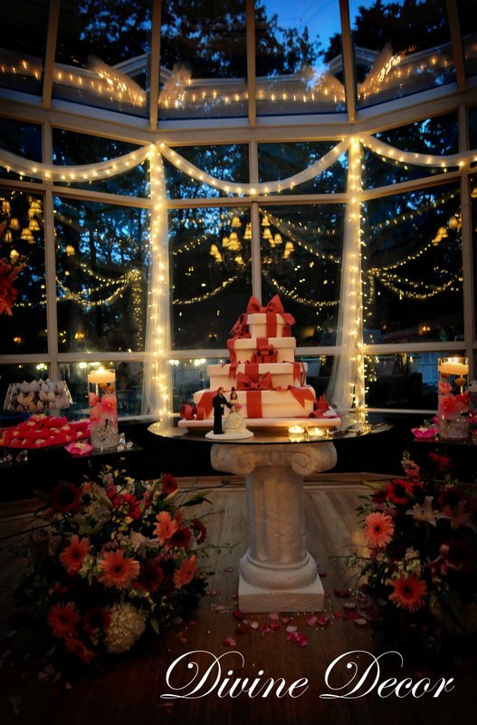 Reception, Flowers & Decor, Decor, Cakes, cake, Divine decor