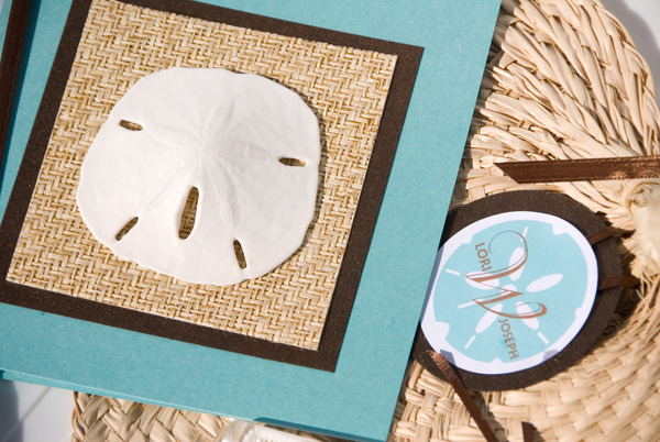 DIY, Favors & Gifts, Paper, favor, Beach, Beach Wedding Favors & Gifts, Shell, Tropical, Program