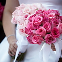 pink, Roses, Bouquets