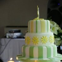 Cakes, yellow, green, cake, Lime, Wedding, Fondant, Lemon, Stripes, Funky, Let them eat cakes