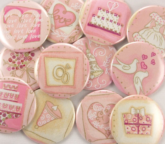 Favors & Gifts, pink, favor, Wedding, Gift, Bridal, Pocket, Shower, Mirror, Flirtbuttons