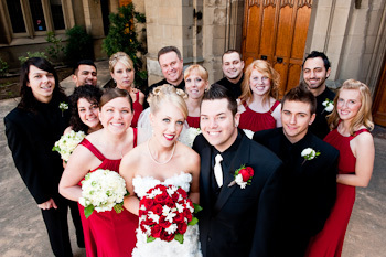 Portrait, Wedding party, Group, Posed, Wayne tam photography