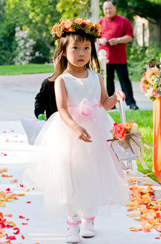 Ceremony, Flowers & Decor, Flower girl, Wayne tam photography