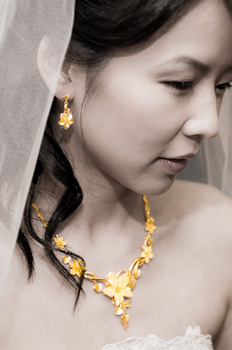 Jewelry, Bride, Portrait, Closeup, Black white, Wayne tam photography