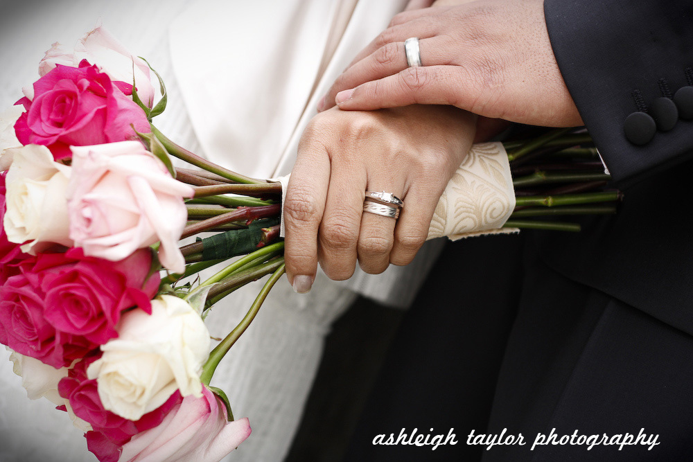 Bride, Bouquet, Groom, Rings, Wedding, Band, Details, Ashleigh taylor photography