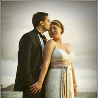 Destinations, Hawaii, Bride, Groom, Wedding, And, Sunset, Maui, Cassandra dieterle photography