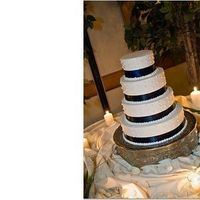 Cakes, blue, cake, The savvy event