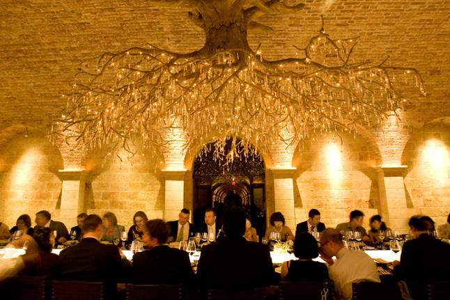 Table, Crystal, Tree, Crystals, Napa, Wine, Dinner, Winery, Suzy berberian, a dream day, Wine country, Cave, Napa valley, Destinations, North America