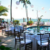 Ceremony, Reception, Flowers & Decor, Destinations, Mexico, Beach, Beach Wedding Flowers & Decor, Wedding, Destination, Villa, Puerto, Vallarta, Michelle hayes photography