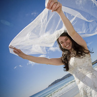 Veils, Beach Wedding Dresses, Fashion, Beach, Bride, Veil, Wedding, Area, Bay, Charles le photography