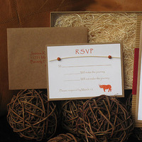 Stationery, red, brown, Eco-Friendly, Invitations, Wedding, Tan, Natural, Leather, Khaki, Beads, African, Safari, Paper olive, Destination wedding invitations, Custom wedding invitations, Couture wedding invitations
