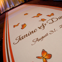 Ceremony, Flowers & Decor, Decor, Classic, Monogram, Aisle, Elegance, Runner, Butterflies, Buttrefly