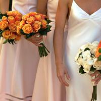 Flowers & Decor, orange, Bride Bouquets, Modern, Flowers, Modern Wedding Flowers & Decor, Bouquet, Wedding, Tropical