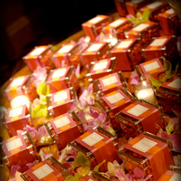 Favors & Gifts, orange, pink, Favors, Modern, Candles, Wedding, Tropical