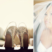 Shoes, Veils, Fashion, silver, Bride, Veil, Wedding, Lticultural