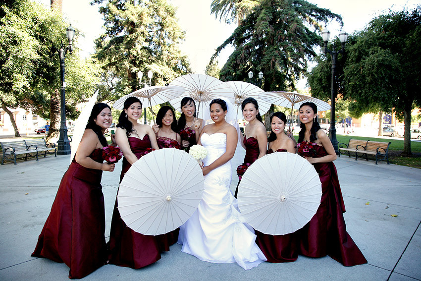Bridesmaids, Bridesmaids Dresses, Fashion, red, Wedding, Lticultural