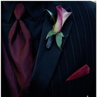 Flowers & Decor, Fashion, red, Men's Formal Wear, Boutonnieres, Flowers, Wedding, Calla, Tuxedo, Boutonniere, Lily, Lticultural, Flower Wedding Dresses
