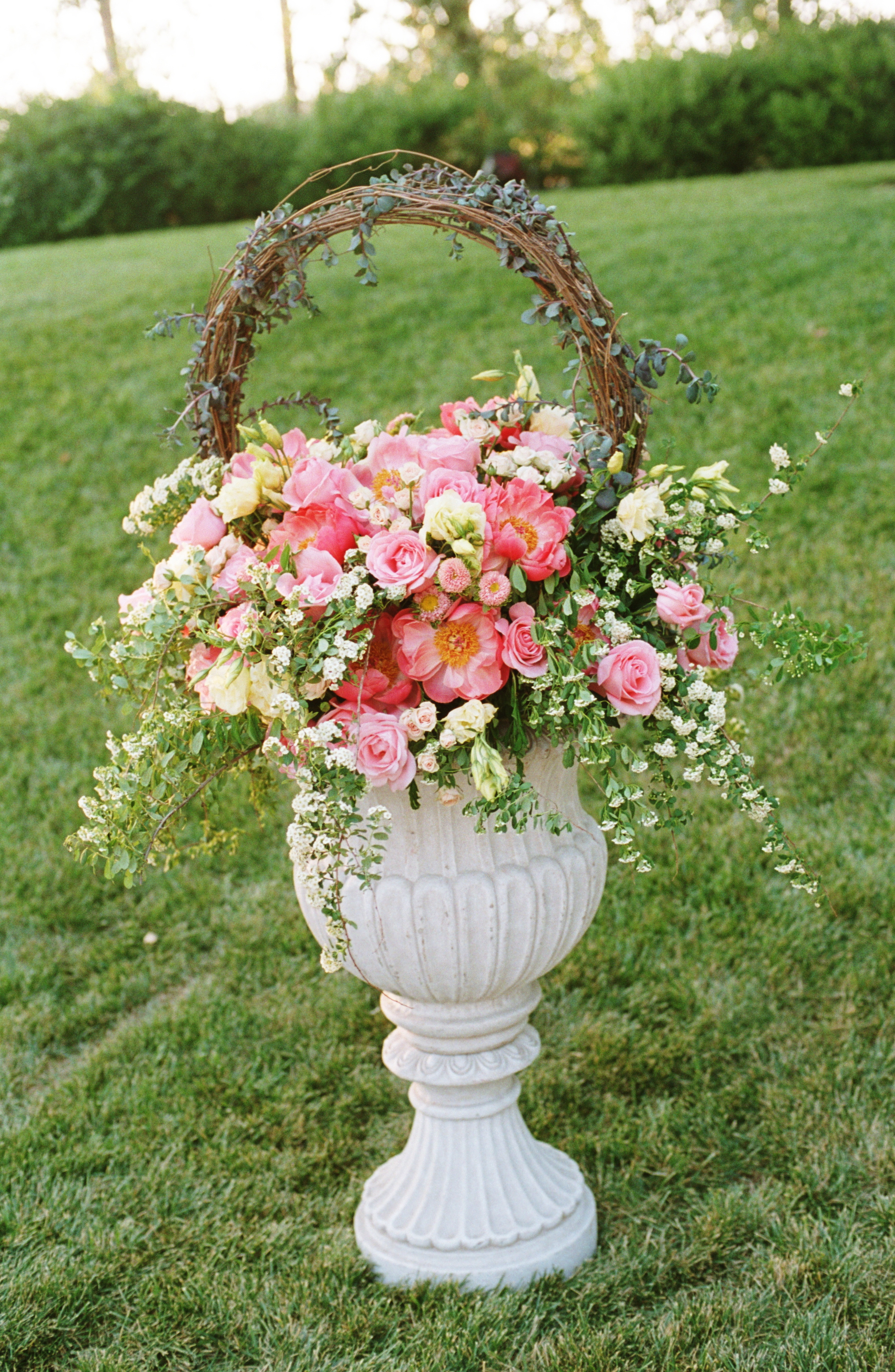 Ceremony Flowers, Rustic Wedding Flowers & Decor