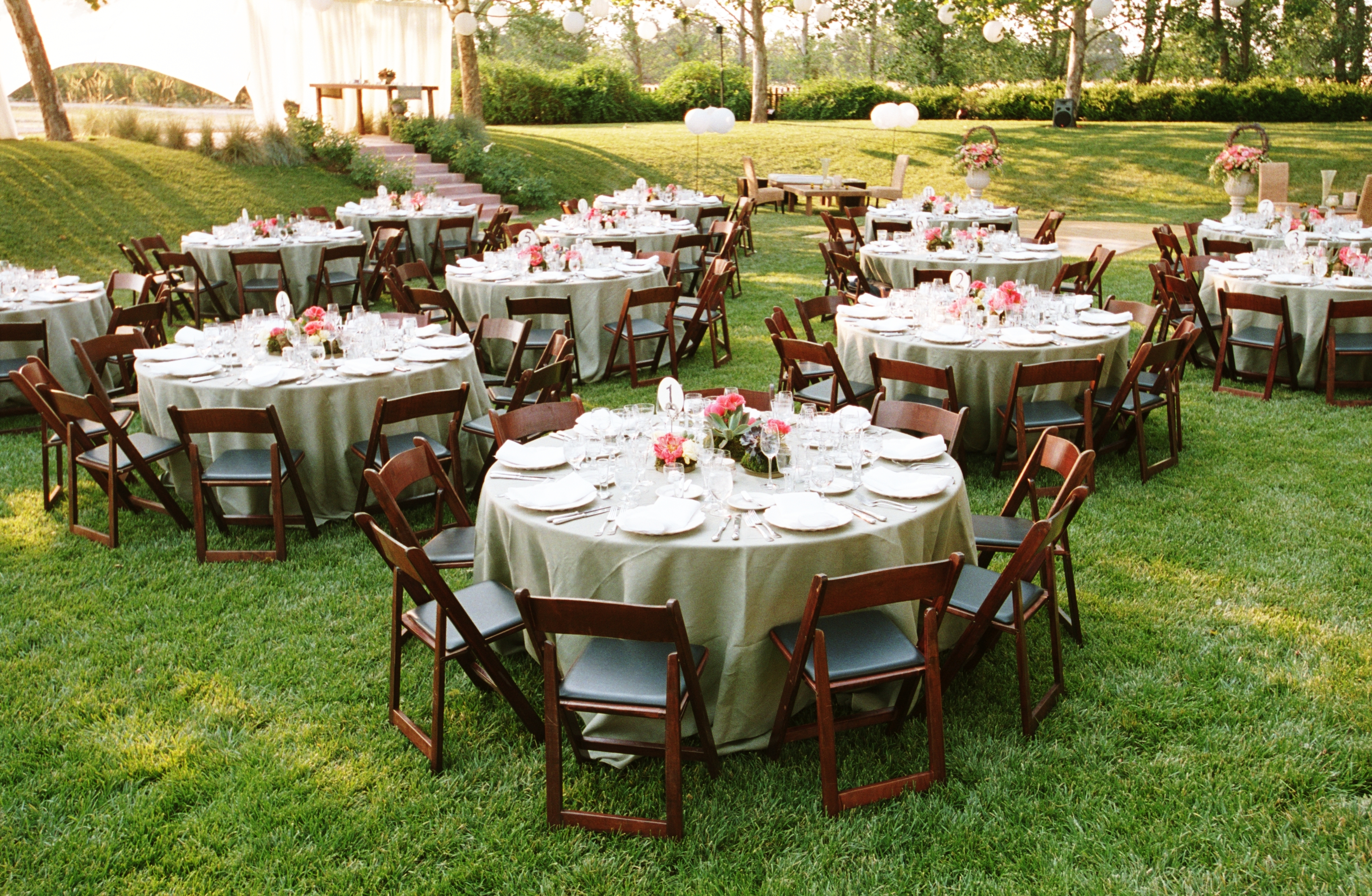 Reception, Flowers & Decor, Decor, white, pink, Wedding, Farm