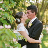 Destinations, pink, North America, Wedding, Napa, Kissing couple, Dogwood, Napa valley