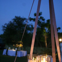 DIY, Reception, Flowers & Decor, Lighting, Candles, Outdoor, Dana goodman weddings