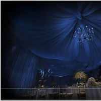 blue, Draping, Room, Tc event design