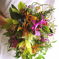 Bouquet, Bridal, Green stem designs