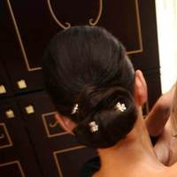 Beauty, Chignon, Updo, Hair, Joanne kim