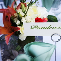 Centerpiece, Table, Name, With, Close-up