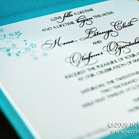 Stationery, blue, invitation, Invitations, Wedding, Custom, Tiffany, Pocketfold, Creations, Invitation creations