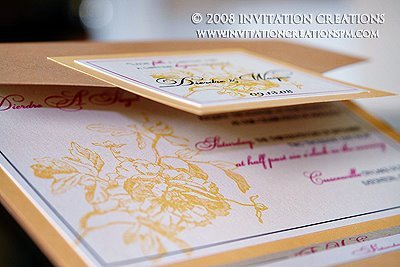 Stationery, invitation, Invitations, Wedding, Custom, Pocketfold, Creations, Graphic, Invitation creations, Foral