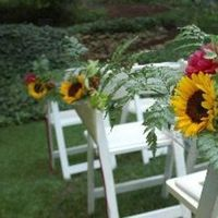 Flowers & Decor, Aisle Decor, Flowers, Enchanted events and design, Sun flowers